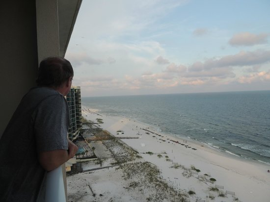 Regency Isle Condominiums : Just to show it really was from the balcony - almost too perfect!