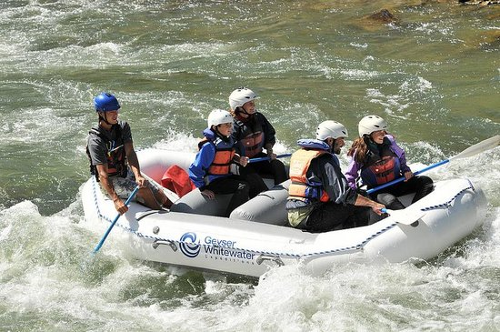 Geyser Whitewater Expeditions: Good times