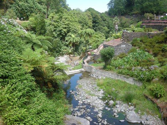 Parque Natural da Ribeira dos Caldeiroes: bovenste deel park