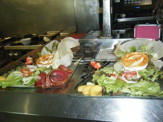 La VOLTA : salades