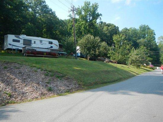 Lake Junaluska Campground: RV sites