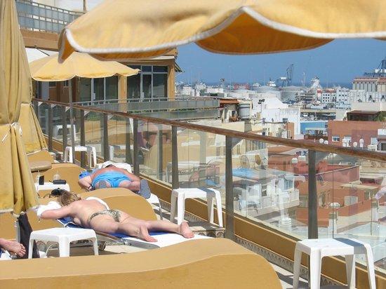 Reina Isabel Hotel: Auf dem Dach
