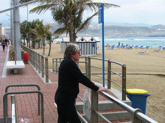 Reina Isabel Hotel: An der Promenade