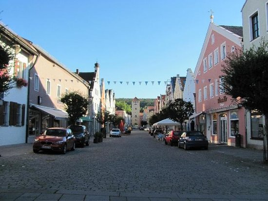 Kelheim, Allemagne : from the marketsquare