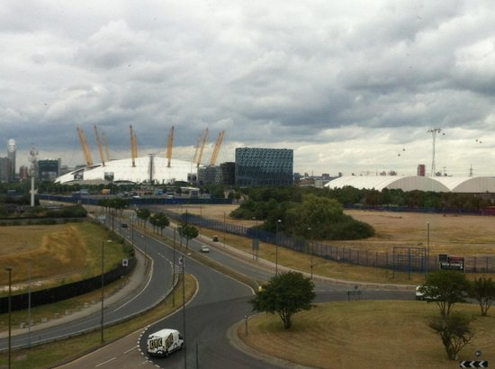 Holiday Inn Express London - Greenwich: View from the lift lobby...