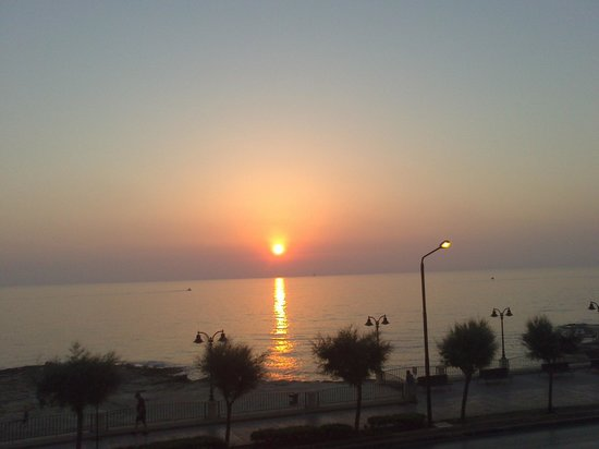 Europa Hotel: Sunset
