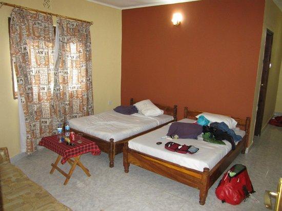 Colobus Mountain Lodge & Campsite : De kamer