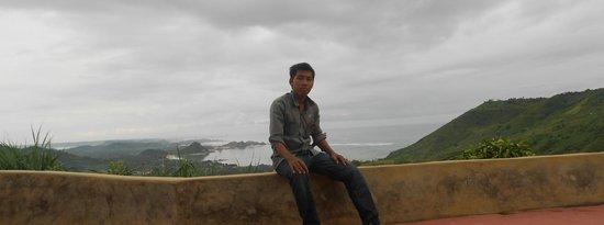 Segare Anak Bungalows & Restaurant: tralala top view at asthari lombok