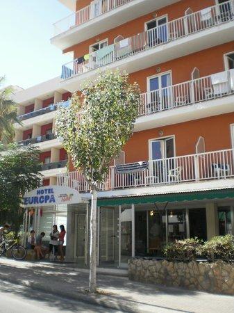 Hotel HSM Europa : Vista Hotel