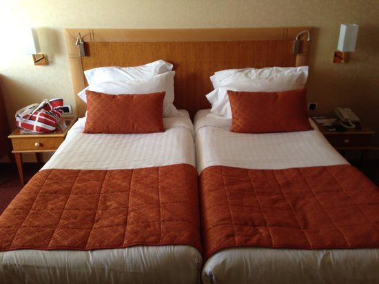 Best Western Hotel Alexandra : Single beds