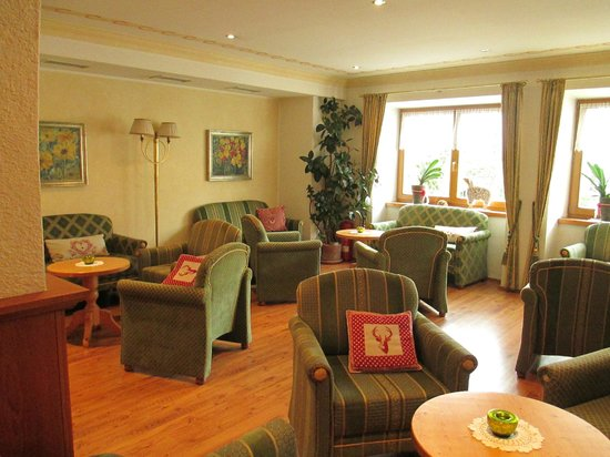 Hotel Leitgamhof: area comune