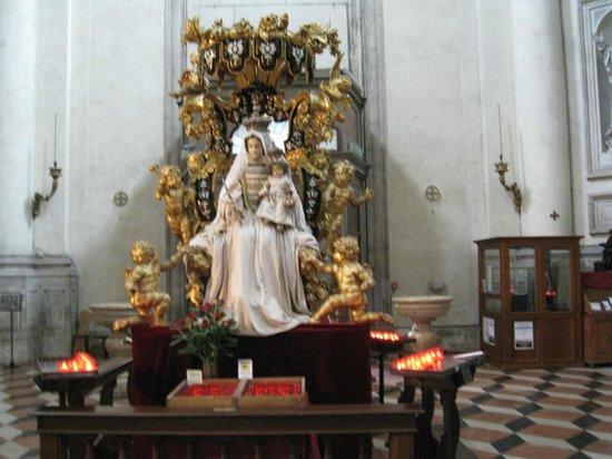 I Gesuati (Santa Maria del Rosario) : Madonna of the Rosary by Antonio Bossa