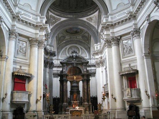 Chiesa dei Gesuati o Santa Maria del Rosario: High Altar by Morlaiter