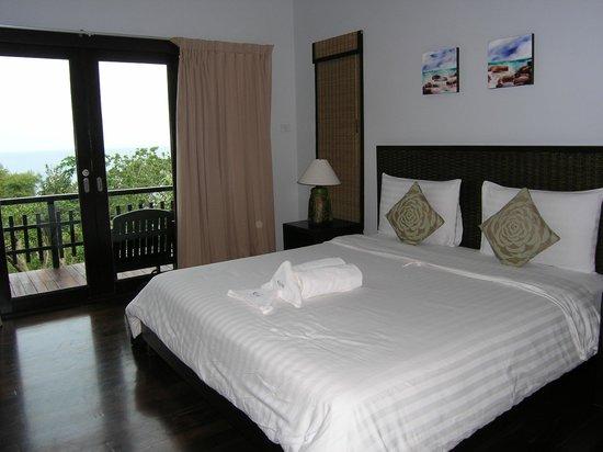 Chintakiri Resort : Our bed