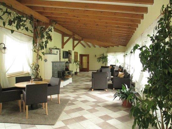 Hotel Leitgamhof: sala TV