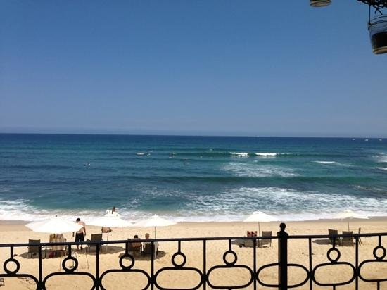Cabo Surf Hotel : view from breakfast