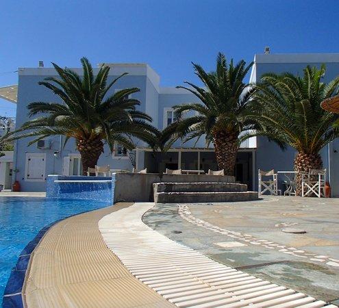 Hotel Benois: La piscine