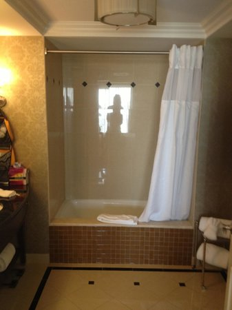 Waldorf Astoria Orlando: Bath/shower combo for King bedroom