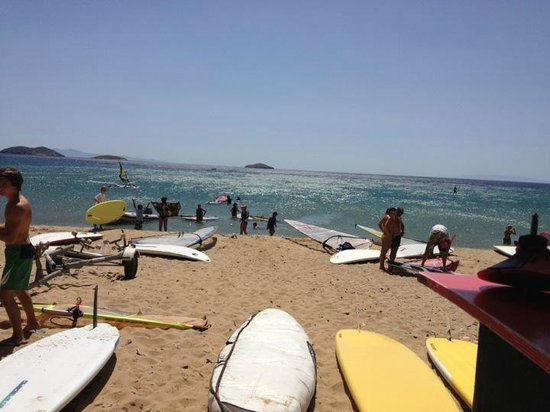 Agios Petros beach Surf Club