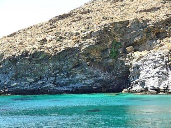 Agios Petros beach, Gavrio, Andros island