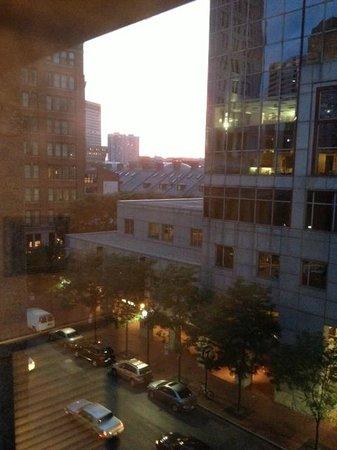 Harborside Inn: View from room on 5th floor