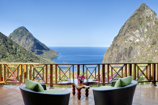 Ladera Resort: View from the villa - Paradise Ridge