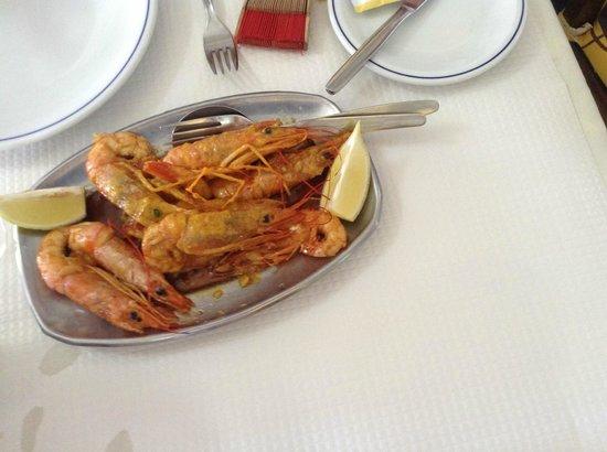 Retiro do Pescador Restaurante : Fried prawns