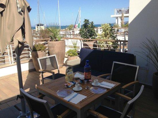 Resort Baia Scarlino: vista dal terrazzo