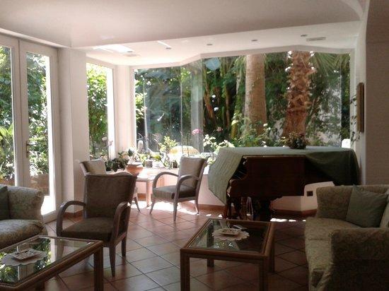 Hotel Villa Angelica: Sala relax dell'hotel