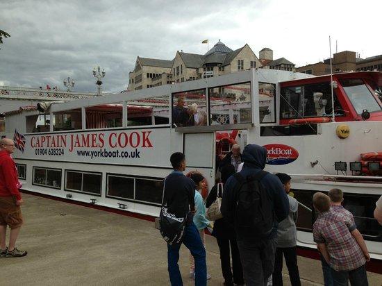 York Boat: Captain James Cook