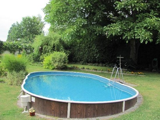 Penzion IAT: small swimmingpool