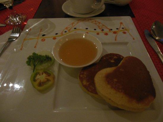 Hotel Alejandro: Pancake breakfast