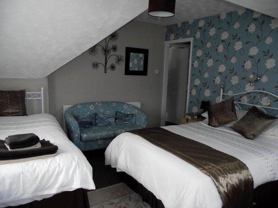Redlands Guest House: Top floor room number 5