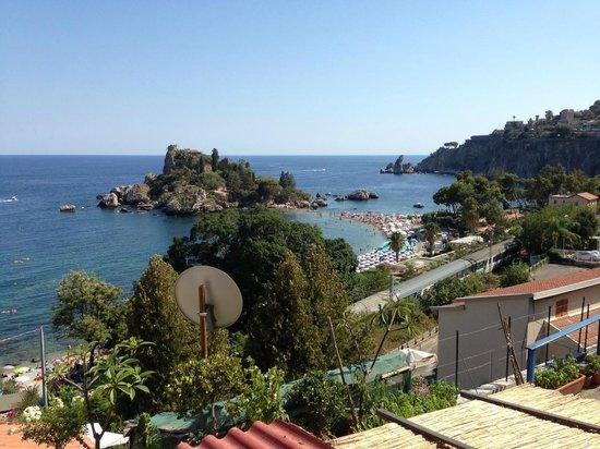 B&B 5 Sensi: Isola Bella panorama