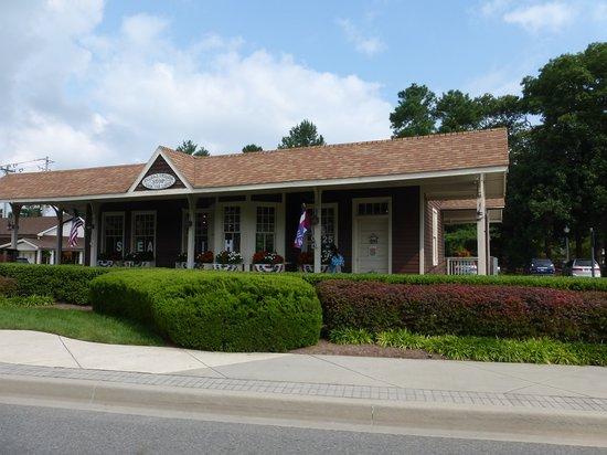 Rehoboth Railroad Station : Vistor Center Rehoboth Beach