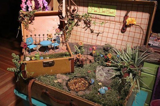 Make your own fairy garden picture of the potter 39 s shed for Garden shed tripadvisor