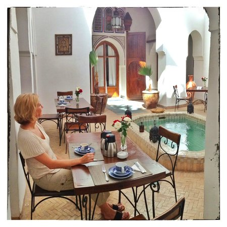 Riad Nora: im Innenhof