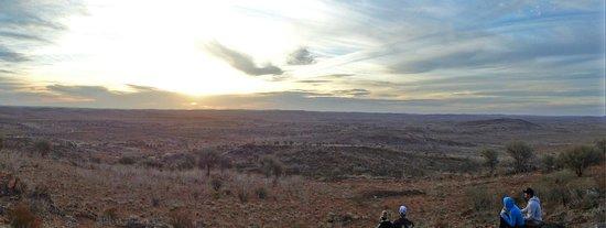 The Broken Hill Sculptures & Living Desert Sanctuary: View of Outback from Sculpture Garden