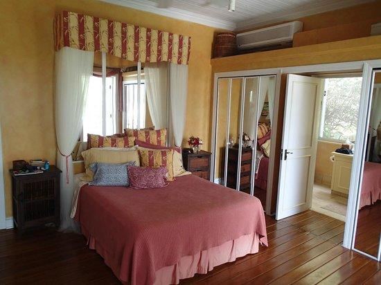 Bellavista Bed & Breakfast : Bambooshay room