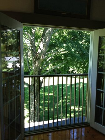 The Tolland Inn: View from Room