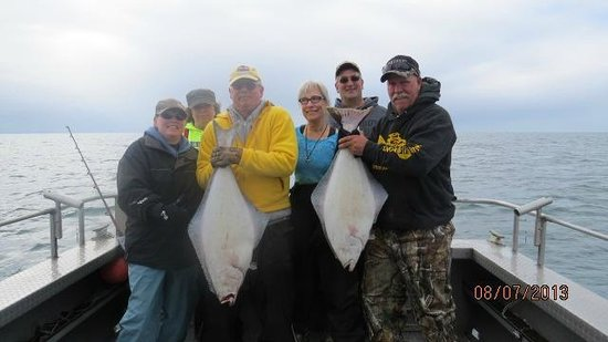 Jimmie Jack's Alaska Lodge: Halibut trip