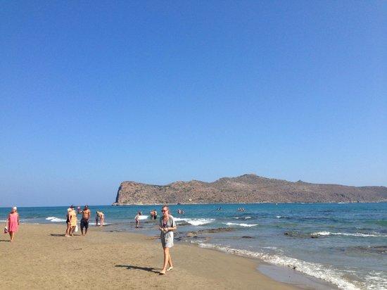 Mercato Agora di Chania : Spiaggia di Agya Marina
