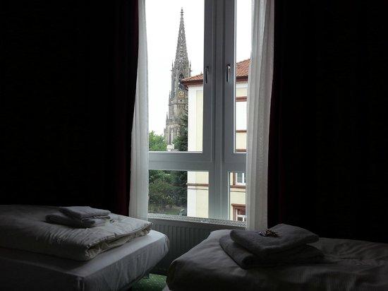 Hotel Löwengarten: Vista dalla Camera