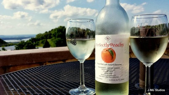 "Danzinger Vineyards: ""Perfectly Peachy"" - My wifes favorite!"