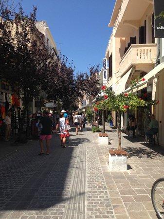 Mercato Agora di Chania : Stradine del centro