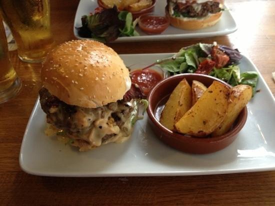 Le Mal Barré : bacon double burger, incredible!