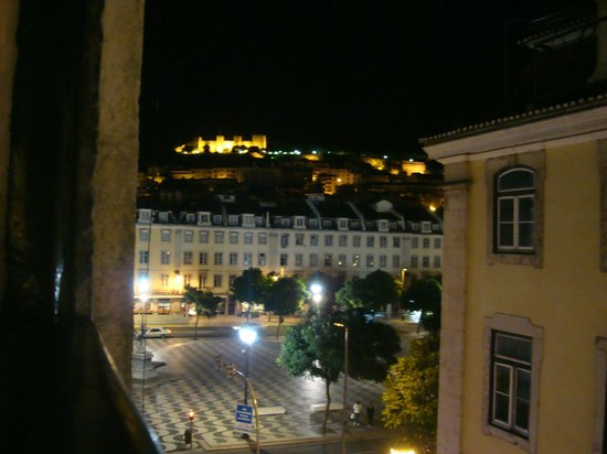 Rossio Hostel: Vista do quarto