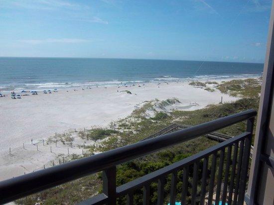 Shell Island Resort: from the balcony
