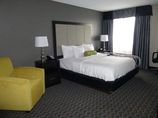 La Quinta Inn & Suites Detroit Metro Airport: newly reno's room