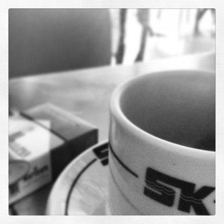 Hotel Korali: Morning Coffee